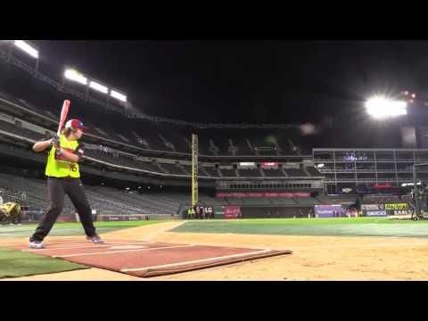 Blaze Jordan 13-year-old hits 500-foot home run