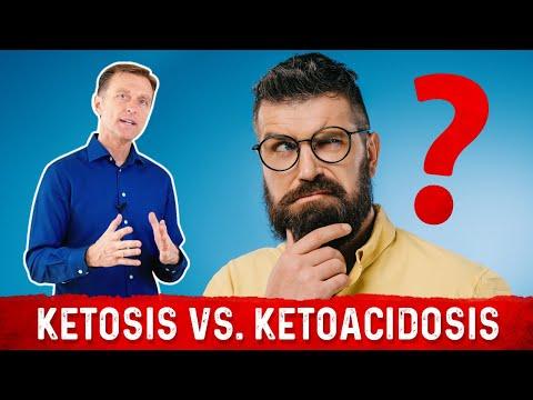 Ketosis vs. Ketoacidosis: VERY DIFFERENT!