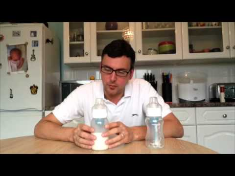 Dr Brown's 'Natural Flow' Baby Feeding Bottle Review