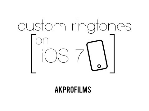 How to get Custom Ringtones on iOS 7