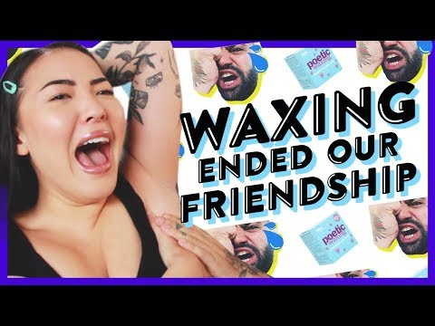 Watch Us Wax Each Other!!   GBT   soothingsista