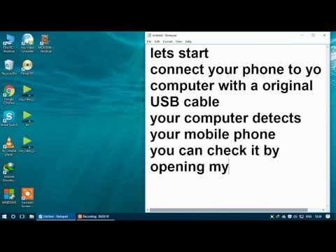 How to connect your computer to internet using your phone in easy method