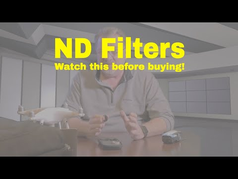ND  Filters For Your Mavic, Phantom, Spark ,Watch this before buying