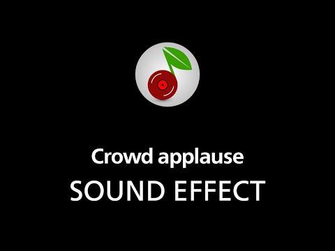 🎧 Crowd applause SOUND EFFECT