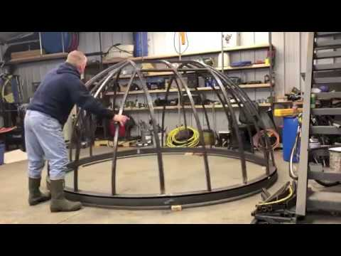 Observatory Construction 3 meter Dome