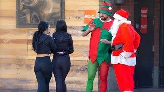 Santa Beatboxing For Strangers!!