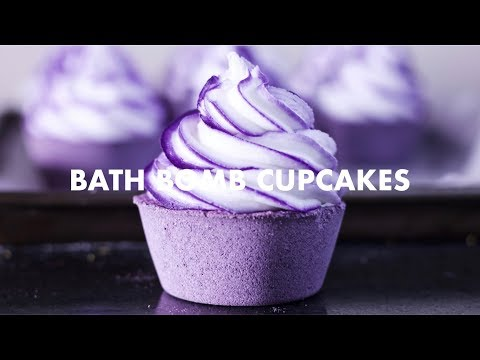 How To Make: Bath Bomb Cupcakes [Vegan Frosting]