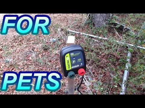 DIY Patriot PE2 Electric Fence For Pets