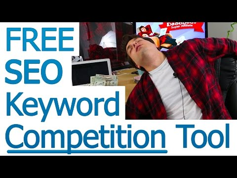 SEO Keyword Competition Tool: Lazy Way to Determine Keyword Competition