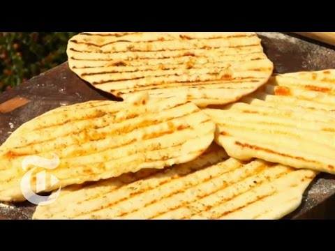 Style: Grilled Lebanese Flatbread   The New York Times
