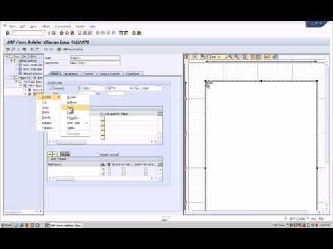 SAP ABAP Smartform with ranges