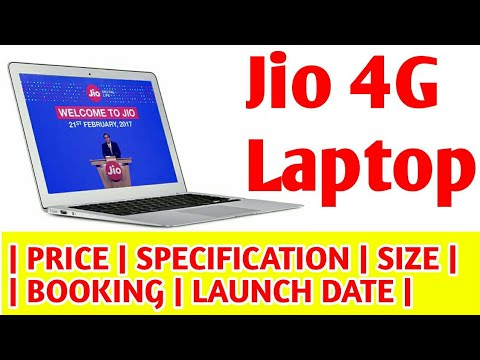 Jio 4g Laptop Unboxing price in India  booking online free offer