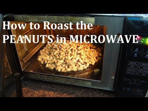 How to Roast RAW PEANUTS in Microwave in 5 minute - Microwave Hack - Quick Peanut Roasting Process