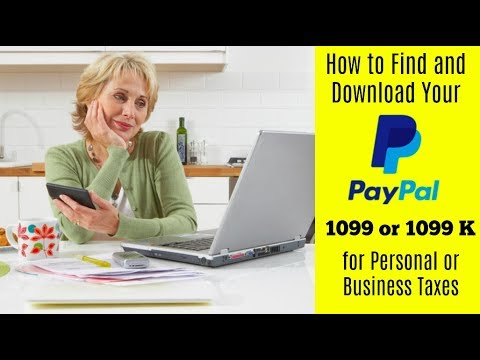 eBay and Taxes: How to Find and Download Paypal 1099 or 1099-k