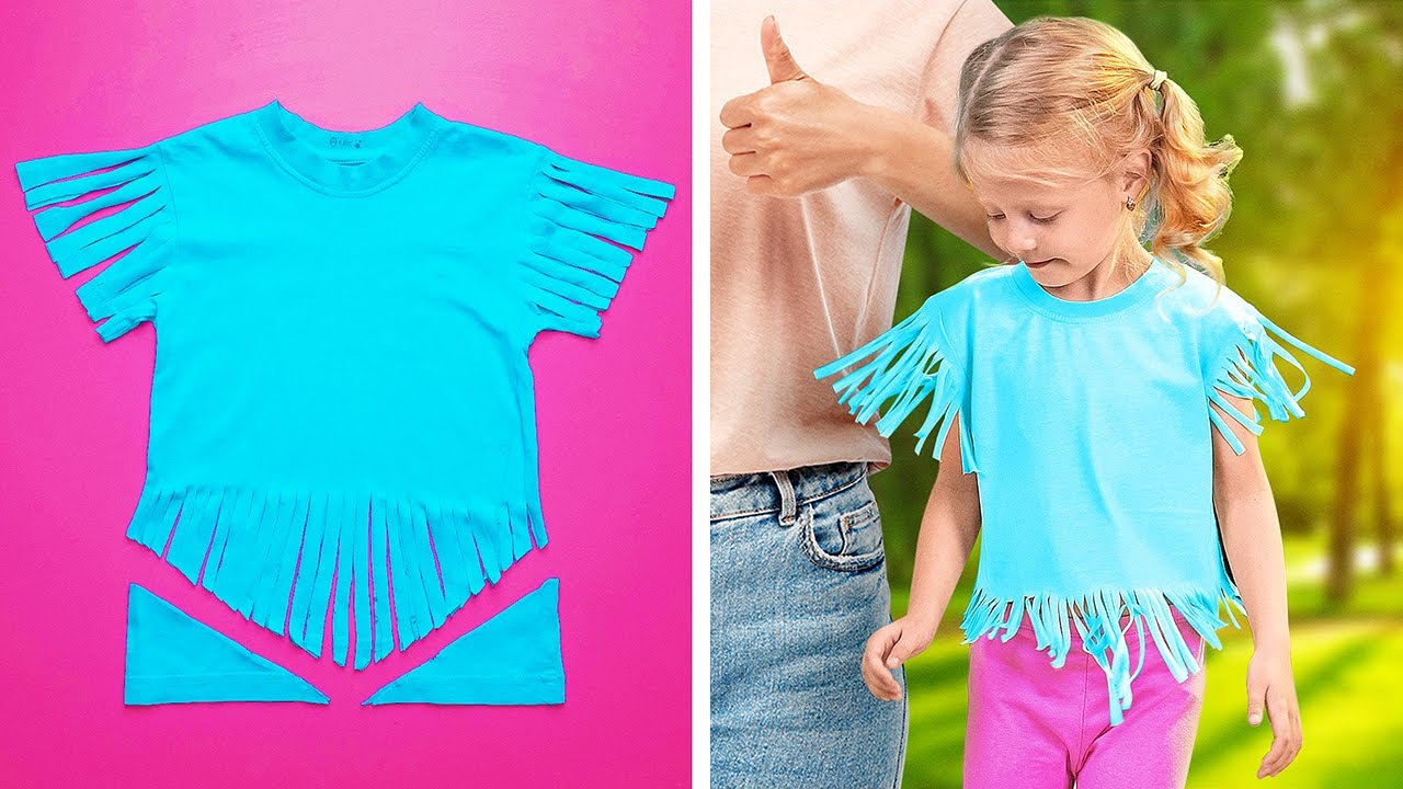 CLOTHING HACKS FOR CRAFTY PARENTS YOU MUST TRY