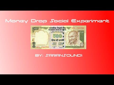 Dropping Money Social Experiment -Prank - India