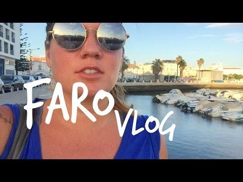 Faro Vlog || entering Portugal, tour of the town