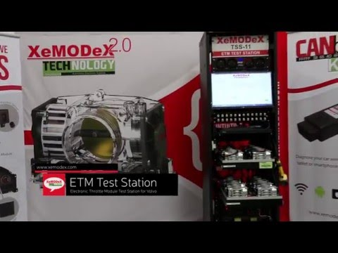 Volvo Electronic Throttle Module (ETM) Test Station by XeMODeX (Ep 2)