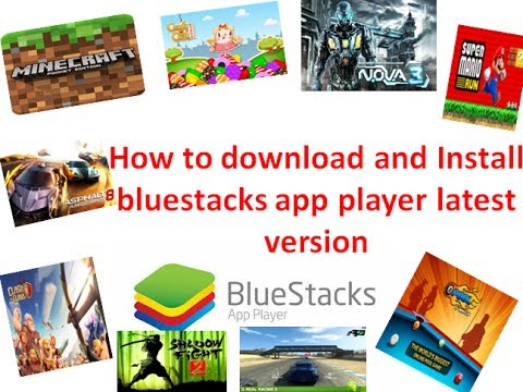 How to download bluestacks app player latest version for free?