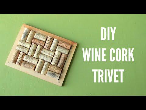 DIY Wine Cork Trivet (Pot Holder)