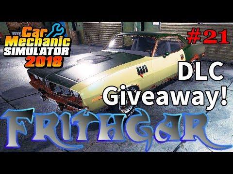 Let's Play Car Mechanic 2018 #21: DLC Giveaway!