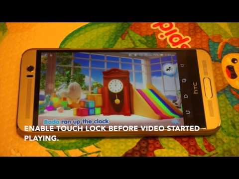 How to disable touch screen while watching YouTube on Android - Touch Lock
