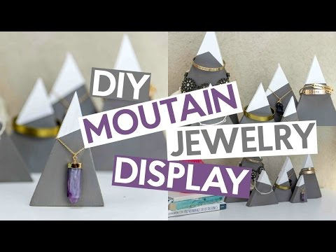DIY Mountain Jewelry Display