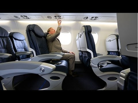 Tour of new American Airlines aircraft