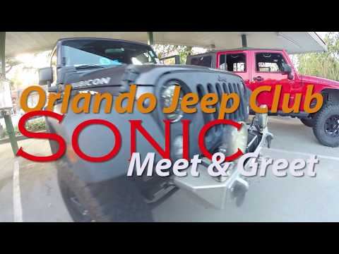 Sonic Meet and Greets   Meet RueBee and Pete TOJC St Cloud Florida