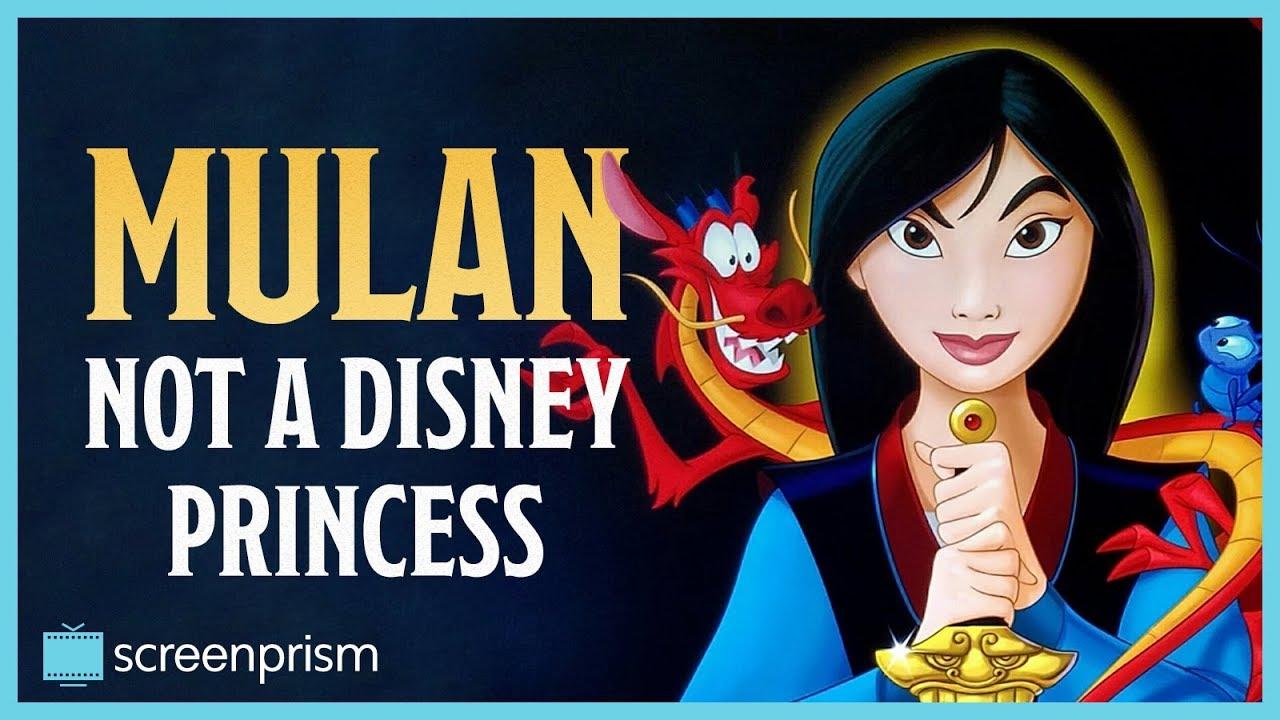 Mulan: Not a Disney Princess