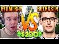 REDMERCY VS BJERGSEN | $200 1v1 SHOWDOWN!! Season 2 - League of Legends