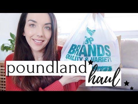 POUNDLAND HAUL APRIL 2018 | WHAT'S NEW IN POUNDLAND