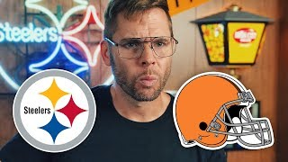 Dad Reacts to Steelers vs Browns (Week 1)
