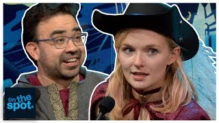 On The Spot: Ep. 153 - Rosario Dawson is a Thief | Rooster Teeth