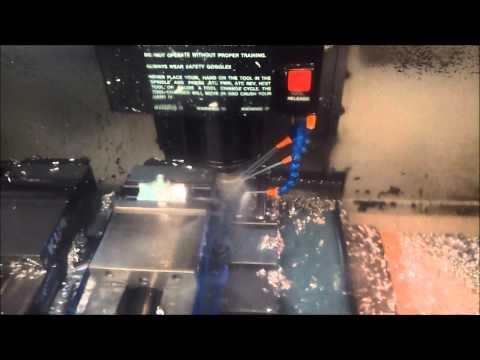 Haas VF0 Machining Prototype Handle