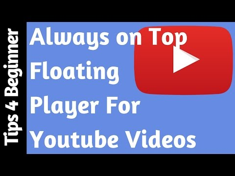 How to Floating YouTube Videos On Your Pc | Youtube player Always on Top | Youtube Extension tricks