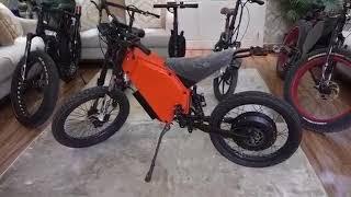 دراجة هوائية كهربائية تصل سرعتها إلى 100 كم في الساعة