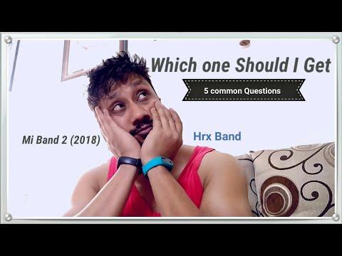 Mi band 2 vs Hrx band (5 Common Questions)