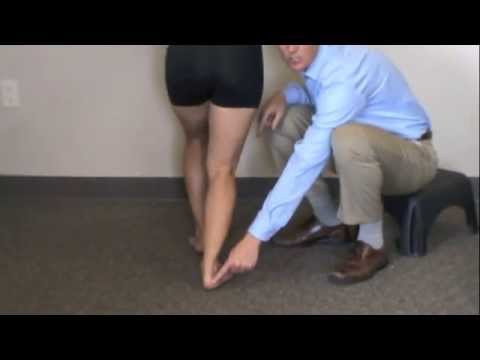 Calf Stretch Progressive Physical Therapy and Rehabilitation Orange County Calif