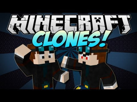 Minecraft | CLONES! (Copy Yourself or ANY Mob!) | Mod Showcase [1.5.2]