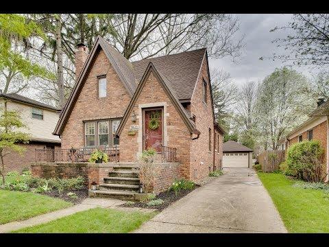 9625 Blackburn, Livonia, MI | Old Rosedale Gardens Brick Tudor