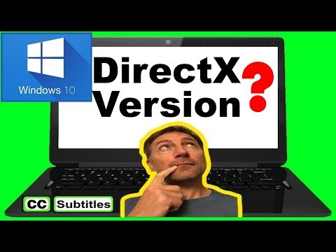 Windows 10 Check DirectX Version - What version of DirectX do I have Windows 10