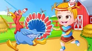 Baby Hazel Game Movie - Baby Hazel Thanksgiving Day - Dora the Explorer