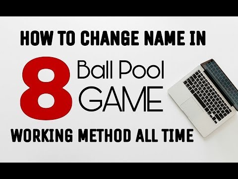 8 Ball Pool : How To Change Name In 8 Ball Pool Game : Latest Method :