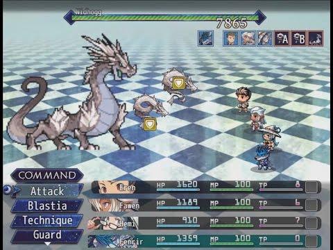 RPG Maker MV [Shattered Star] - Battle system test - playithub com