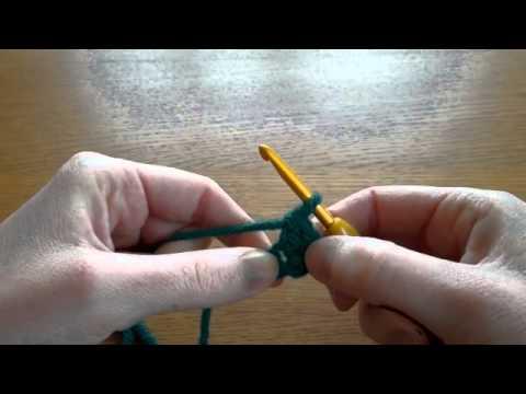 (Crochet) Double Crochet Stitch DC (US) Treble TR (UK)