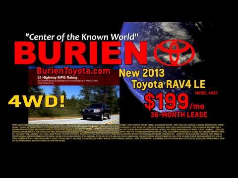 BurienToyota RAV4 Lease, September 2013