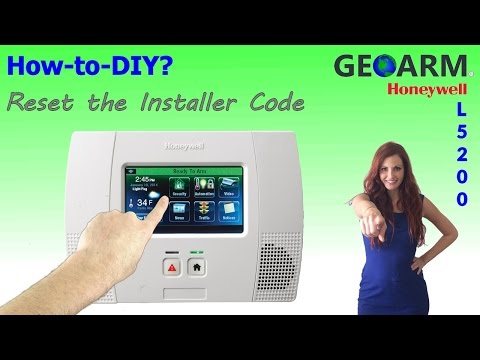 Honeywell L5200 - How to Reset the Installer Code?
