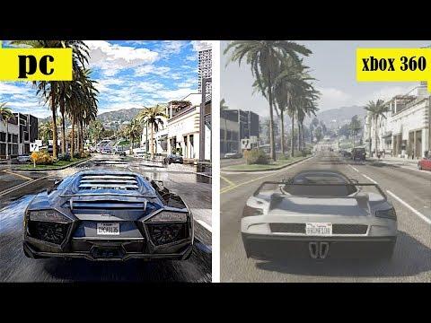 GTA 5 - XBOX 360 x GTA 5 PC 4K Existe diferença?