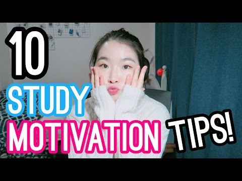 10 TIPS FOR GETTING MOTIVATED TO STUDY - HOW TO GET MOTIVATED I Med School Student Life